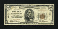 National Bank Notes:West Virginia, Martinsburg, WV - $5 1929 Ty. 1 The Citizens NB Ch. # 4811. ...