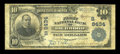 National Bank Notes:West Virginia, Richwood, WV - $10 1902 Plain Back Fr. 626 The First NB Ch. #(S)8434. ...