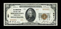National Bank Notes:Pennsylvania, Downingtown, PA - $20 1929 Ty. 2 The Downingtown NB Ch. # 661. ...