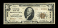 National Bank Notes:Pennsylvania, Brownstown, PA - $10 1929 Ty. 2 The Brownstown NB Ch. # 9026. ...