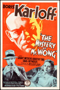 """Movie Posters:Mystery, The Mystery of Mr. Wong (Monogram, 1939). Folded, Very Fine-. One Sheet (27"""" X 41""""). Mystery.. ..."""