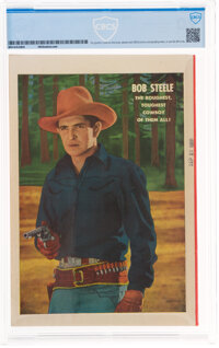 Bob Steele Western #1 (Fawcett Publications, 1950) CBCS VF/NM 9.0 White pages