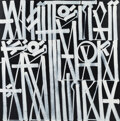 Paintings, RETNA (b. 1979). White Noise, 2016. Acrylic on canvas. 60 x 60 inches (152.4 x 152.4 cm). Signed, ...