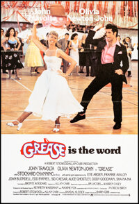 """Grease (Paramount, 1978). Folded, Very Fine/Near Mint. British One Sheet (27"""" X 39.5""""). Musical"""
