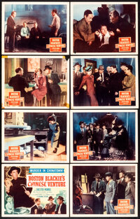 Boston Blackie's Chinese Venture & Other Lot (Columbia, 1949). Fine/Very Fine. Lobby Card Set of 8 & Lobby Card...