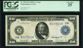 Large Size:Federal Reserve Notes, Fr. 1030 $50 1914 Federal Reserve Note PCGS Very Fine 25.. ...
