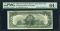 Partial Face to Back Offset Error Fr. 2167-B $100 1974 Federal Reserve Note. PMG Choice Uncirculated 64 EPQ