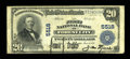 National Bank Notes:Pennsylvania, Forest City, PA - $20 1902 Plain Back Fr. 659 The First NB Ch. #5518. ...