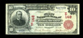 National Bank Notes:Pennsylvania, West Chester, PA - $10 1902 Red Seal Fr. 613 The First NB Ch. #(E)148. ...