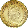 Early Eagles, 1795 $10 13 Leaves XF40 PCGS....