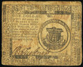 Continental Currency February 17, 1776 $1 Very Good