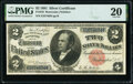 Large Size:Silver Certificates, Fr. 245 $2 1891 Silver Certificate PMG Very Fine 20.. ...