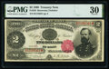 Large Size:Treasury Notes, Fr. 355 $2 1890 Treasury Note PMG Very Fine 30.. ...