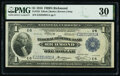 Fr. 722 $1 1918 Federal Reserve Bank Note PMG Very Fine 30