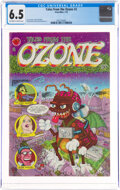 Tales From the Ozone #2 (Print Mint, 1970) CGC FN+ 6.5 Off-white to white pages