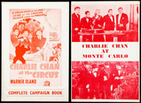 Charlie Chan at the Circus & Other Lot (20th Century Fox, 1936). Fine/Very Fine. British Pressbooks (2) (8 Pages, 10...