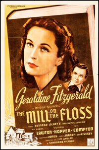 """The Mill on the Floss (Standard Picture Distributing, 1939). Folded, Very Fine-. One Sheet (27"""" X 41""""). Drama..."""