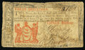 New Jersey 1786 3s Very Good