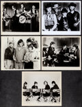 """Movie Posters:Rock and Roll, The Monkees (NBC, 1960's). Fine+. Television Photos (5) (8"""" X 10""""). Rock and Roll.. ... (Total: 5 Items)"""