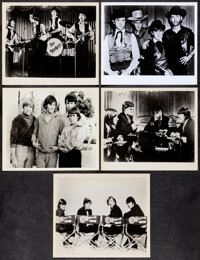 """The Monkees (NBC, 1960's). Fine+. Television Photos (5) (8"""" X 10""""). Rock and Roll. ... (Total: 5 Items)"""