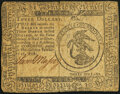 Continental Currency February 17, 1776 $3 Fine