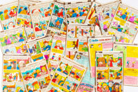 Barry Grossman (attributed) Pep Comics #274 Partial Issue Production Color Guides Group of 19 (Archie, 1973).... (Total:...
