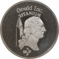 (1977-78) Gould $1. MS67 NGC. RB-1055. 4.32 g. Struck in titanium. Deeply prooflike, although not noted as such on the i...