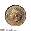 Proof Indian Cents: , 1877 1C PR65 Red NGC. This needle-sharp Gem has ...
