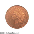 Proof Indian Cents: , 1886 1C Type Two PR64 Red PCGS. It is generally accepted ...