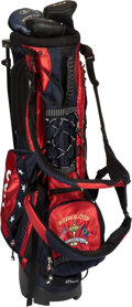 Golf Collectibles:Clubs - Steel Shaft, Al Kaline Used 2004 Ryder Cup Golf Bag With Special Putter...