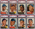 Baseball Cards:Lots, 1953 Topps Baseball PSA-Graded Collection (26) - with Berr...