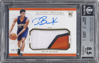 2015 Panini National Treasures Devin Booker (Jersey Autograph) Rookie #113 BGS NM-MT+ 8.5, Auto 10 - #'d 48/99