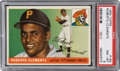 Baseball Cards:Singles (1950-1959), 1955 Topps Roberto Clemente Rookie #164 PSA NM-MT 8.