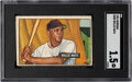 Baseball Cards:Singles (1970-Now), 1951 Bowman Willie Mays #305 SGC Fair 1.5. Offered...