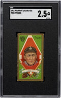 Baseball Cards:Singles (Pre-1930), 1911 T205 Piedmont Ty Cobb SGC Good+ 2.5. Offered ...