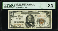 Low Serial Number 333 Fr. 1880-B $50 1929 Federal Reserve Bank Note. PMG Choice Very Fine 35