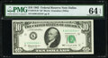 Fr. 2016-K* $10 1963 Federal Reserve Star Note. PMG Choice Uncirculated 64 EPQ