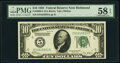 Fr. 2000-E $10 1928 Federal Reserve Note. PMG Choice About Unc 58 EPQ