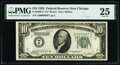 Fr. 2000-G* $10 1928 Federal Reserve Star Note. PMG Very Fine 25