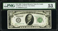 Fr. 2000-H* $10 1928 Federal Reserve Star Note. PMG About Uncirculated 53