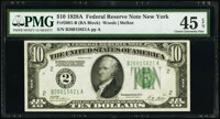 Fr. 2001-B $10 1928A Federal Reserve Note. PMG Choice Extremely Fine 45 EPQ