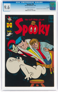 Spooky #90 File Copy (Harvey, 1966) CGC NM+ 9.6 Off-white to white pages