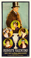Movie Posters:Documentary, Rudolph Valentino and his Eighty Eight Prize-Winning Ameri...
