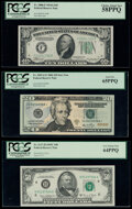 Fr. 2006-F $10 1934A Federal Reserve Note. PCGS Choice About New 58PPQ; Fr. 2093-G* $20 2006 Federal Reserve Star Note...