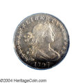 Early Half Dimes: , 1797 H10C 16 Stars AU50 PCGS. V-3, LM-3, R.5. Most of the ...