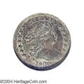 Early Half Dimes: , 1800 H10C LIBEKTY AU58 NGC. V-2, LM-3, R.4. The R in ...