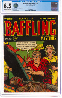 Baffling Mysteries #13 (Ace, 1953) CGC FN+ 6.5 Off-white to white pages
