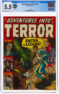 Adventures Into Terror #8 (Atlas, 1952) CGC FN- 5.5 Cream to off-white pages