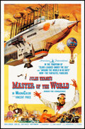 """Movie Posters:Science Fiction, Master of the World (American International, 1961). Folded, Very Fine+. One Sheet (27"""" X 41""""). Science Fiction.. ....."""