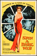 Movie Posters:Crime, Spin a Dark Web (Columbia, 1956). Folded, Very Fine.